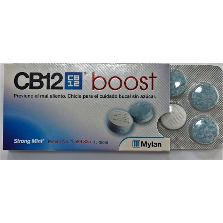 CB12 BOOST 10 CHICLES