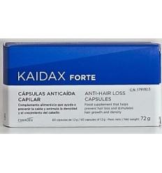 KAIDAX FORTE ANTICAIDA CAPILAR CAPSULAS 60 CAPS