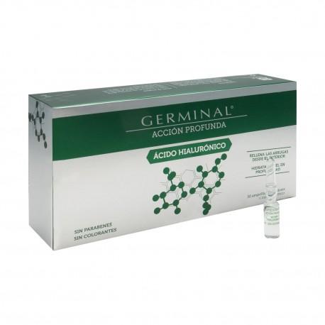 GERMINAL ACCION PROFUNDA ACIDO HIALURONICO 1 ML 30 AMPOLLAS