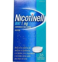 NICOTINELL MINT 1 MG 36 COMPRIMIDOS PARA CHUPAR