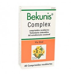 BEKUNIS COMPLEX 40 COMPRIMIDOS GASTRORRESISTENTES