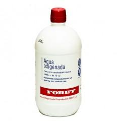 AGUA OXIGENADA FORET 30 mg/ml SOLUCION CUTANEA Y CONCENTRADO PARA SOLUCION BUCAL 1 FRASCO 1000 ml