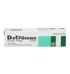 DETRAMAX 2,5 mg/g  15 mg/g POMADA 1 TUBO 30 g
