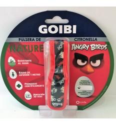 GOIBI PULSERA DE CITRONELLA NATURE 1 PULSERA ANGRY BIRDS