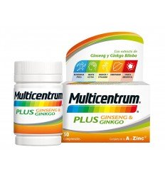 MULTICENTRUM PLUS  PACK 2X30 COMP  GINSENG/GINKGO