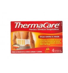 THERMACARE LUMBAR/CADERA 4 PARCHES TERM.