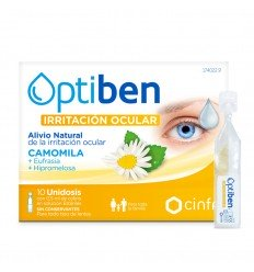 OPTIBEN OJOS IRRITADOS UNIDOSIS ESTERIL SEQUEDAD 10 AMP