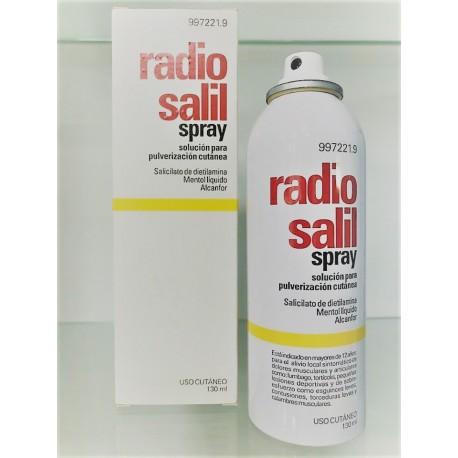 RADIO SALIL SPRAY AEROSOL TOPICO 130 ML
