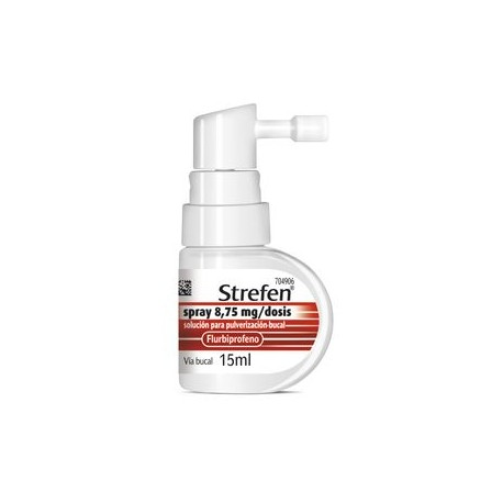 STREFEN SPRAY 8.75 MG/DOSIS SOL PULVERIZACION BUCAL 15 ML