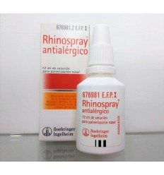 RHINOSPRAY ANTIALERGICO NEBULIZADOR NASAL 12 ML