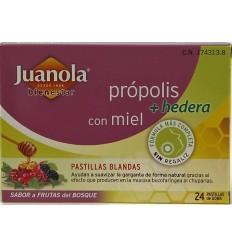 JUANOLA PROPOLIS HIEDRA PASTILLAS BLANDAS F DEL BOSQUE 24 PASTILLAS
