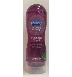 DUREX PLAY MASSAGE LUBRICANTE ALOE VERA
