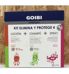 GOIBI ANTIPIOJOS ELIMINA CHAMPU  LOCION  SPRAY KIT