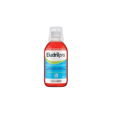 ELUDRILPRO SOLUCION PARA ENJUAGUE BUCAL CLORHEXI 200 ML