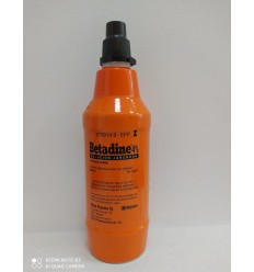 BETADINE JABONOSO 40 mg/ml SOLUCION CUTANEA 1 FRASCO 500 ml