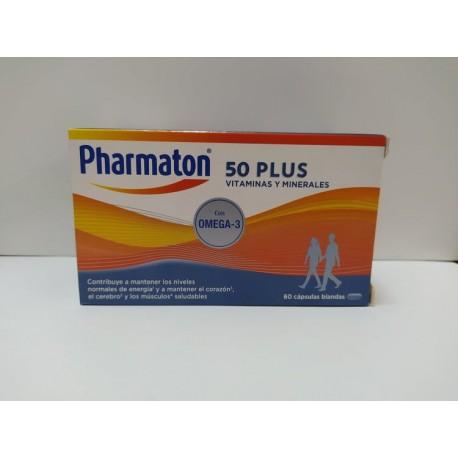 PHARMATON 50 PLUS 60 CAPS