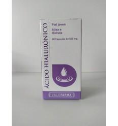 ACIDO HIALURÓNICO - COLAGENO VALEFARMA 60 CAP