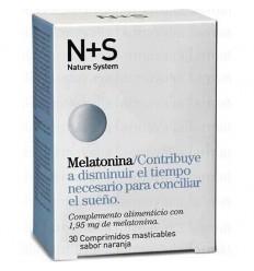 NS MELATONINA COMP MASTICABLES NARANJA 1.95 MG 30 COMP